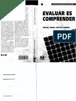 19.-Santos Guerra, M. a. (1998). Evaluar Es Comprender-primera Parte