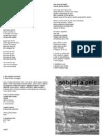 zine - sob(re) a pele