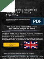 Movimientos Nacionales Del Siglo XX