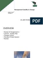 OBU Quality Presentation2