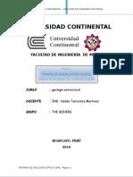 Informe de Geologia Estructural