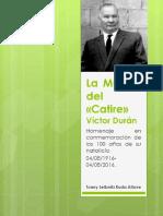 Homenaje a Victor Durán 100 años