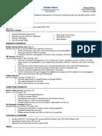 com 320 portfolio resume
