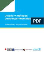 DISEÑO Y METODOS CUASIEXPERIEMNTALES