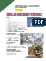 Seminario Instalaciones Edificaciones Afiche a3