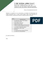 Documento Traslado de Heramientas
