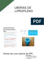 Tuberías de Polipropileno