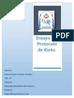 Ensayo Protocolo de Kioto
