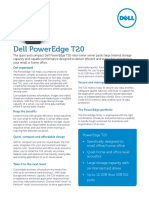 PowerEdge T20 Spec Sheet