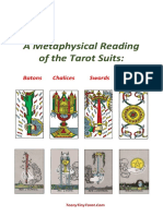 A Metaphysical Reading of the Tarot Suits