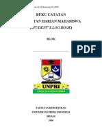 Log Book Mahasiswa FK UNPRI 2016