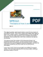 Mpeg-2 Basics