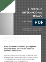 I Derecho Internacional Privado