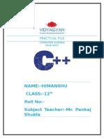 Practical file c++_1
