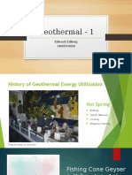 Geothermal-1 Edward Edberg