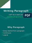 Writing Paragraph