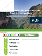 Application of Seismic Reflection on Coal