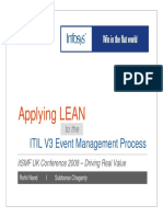 LeanITIL EventManagement