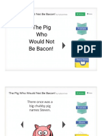 the pig who would not be bacon