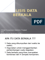 Bahan Tayang Analisis Data Deret Berkala 2016 Bps by Jim