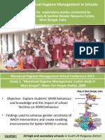 Exploring Menstrual Hygiene Management in Schools