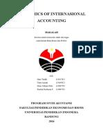 Ethic of International Accounting