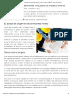 La Importancia de Los Stakeholders en La Gestión de Proyectos Mineros - El Blog de GERENS - Escuela de Post Grado