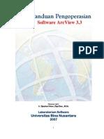 Panduan Pengoperasian Software ArcView 3.3