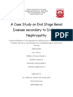 Case Study on End Stage Renal Failure