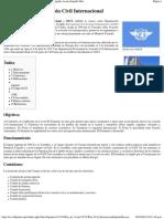 Organización de Aviación Civil Internacional - Wikipedia, La Enciclopedia Libre