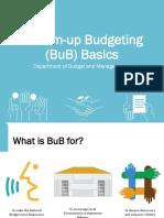 Bottom-up Budgeting 101