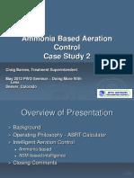 Metro PWO Seminar May 23, 2012 Ammonia Based Aeration Control Case Study 2