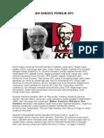 Kisah Sukses Pemilik Kfc