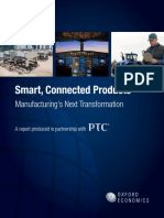 Oxford Economics Smart Connected Products Report