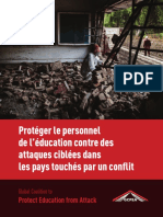 Protecting Education Personnel from Targeted Attack in Conflict-Affected Countries - French