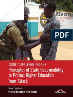Guide to Implementing the Principles of State Responsibility