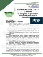 Ultima Varianta BOLBOCI Oferta Speciala Revelion 2016 - 2017