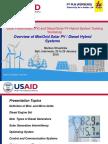 Day 01-02 M. Straslicka 2 Overview of Mini_Grid Solar PV_Diesel Engine Hybrid Systems