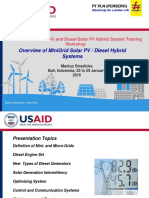 Day 01-02 M. Straslicka 2 Overview of Mini_Grid Solar PV_Diesel Engine Hybrid Systems