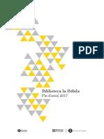 Pla d'Acció 2017 Biblioteca la Bòbila