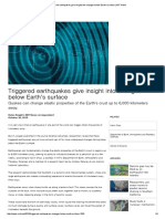 Triggered Earthquakes Give Insight Into Changes Below Earth's Surface _ MIT News