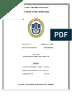 Report for CrescentPure