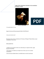 VIDA EREMÍTICA Según Pablo Giustiniani