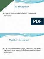 Hypothese Development (1)