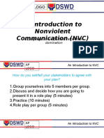 Session 3 - An Introduction to NVC