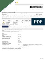 Jet Airways Mobile Booking ETicket ( BDGYWQ ) - M