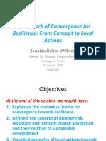 Framework of Convergence