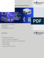 NDIA 2014 Future Electronic Fuzing for Enhanced Effects