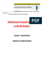 Melinsky Admon Actuarial Del Riesgo
