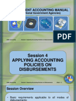 Session 4- Disbursements